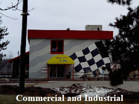 Commercial roofing, industrial roofing, commercial window, door, and seamless gutter instalation