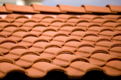 ceramic roof tile installation, roofing tile installation